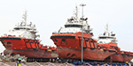 The modern floating vessel was handed over to the Indian Navy under the Mack's India project