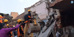 12 Dead After Building Collapses Following Cylinder Blast In UP