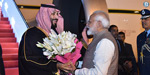 PM Modi welcomes Saudi Crown Prince with a warm hug