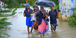 Karnataka reels under heavy rain: Bridges under water, villages marooned