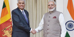 Talks between Prime Minister Modi - Prime Minister of Sri Lanka