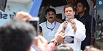 Congress vice-president Rahul Gandhi's election campaign in Gujarat