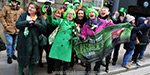 St. Patricks Day in Ireland: fascinating decorative parade
