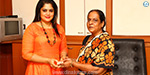 Sun TV, Dinakaran award Vinayaka Prize festival: Actress Yuvarani presented gifts to winners