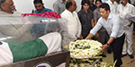 Sports people pay tribute to the Abdul kalam