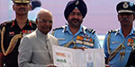 Govind Ramnath has the honor of the President of the Indian Air Force authorities