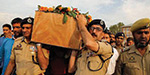 Sub Inspector Altab Ahmed dies - Military officials pay tribute to him
