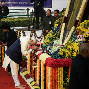 Dr. Ambedkar commemorates father of Indian Constitution