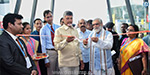 Andhra Pradesh Chief Minister Chandrababu Naidu industries located in the Medical Devices inaugurated