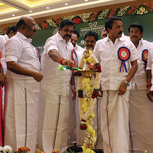 Chief Minister Edappadi Palanisamy opened the Mother Hall in Anna Nagar