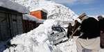 Over 180 dead in afganistan avalanche - worst hit in 30 years