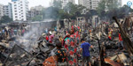 A fire that killed 15,000 huts in Bangladesh...50,000 people lose their homes: photos!