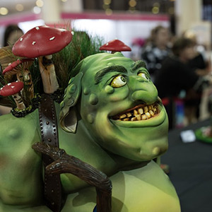 Australian International Cake Festival: bewitching Cake Decorations