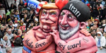 Germany Carnival 2020: Colorful floats mock world leaders ... hundreds of people take part