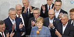 German Chancellor Angela Merkel won the election fourth term