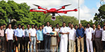 A geological information system map has been started by a droneless aircraft in Chennai