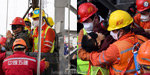 Lucky Sally !: 11 people trapped at a depth of 2000 feet in the Chinese gold mining accident rescued after 14 days ..!