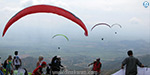 Participation in the World Cup Paragliding in Colombia: Participants from different areas