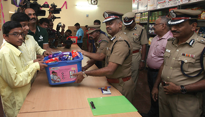 Commissioner of Police in Chennai: Commissioner AK Vishwanathan opened