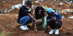 Death toll everywhere .. Sunshine in Brazil !: 4,195 people die of coronavirus in one day .. !!