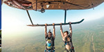 Daredevil teenager who hangs from helicopters, swims with whales and goes desert dirt biking