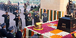 Amar Jawan Jyoti has been honored by soldiers during the 46th victory of the Indo-Pak war