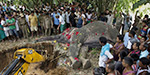 Entire village attend Funeral of elephant