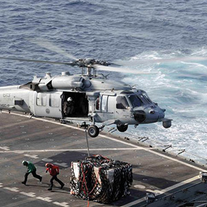 American warships joint training in the Arab world amid tensions with Iran