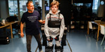 No need for a wheelchair anymore !: A loving father who created a robot for a son who can't walk.