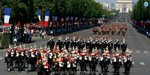 Celebrated National Day of Celebration in France: 200 Military Vehicles Parade