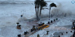 Gloria Storm hitting Spain: wind speeds of 144 km / h; Sea waves rose to 44 feet