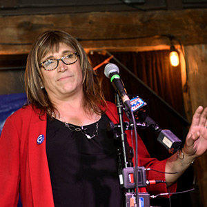 Transgender in the race for governor in the United States - the first transgender governor elected