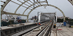 Guindy, Chennai Metro Rail station on the roof of the grand setting