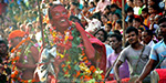 Celebration of the diodhanifestival in Guwahati: Devotees worship animals and sacrifice