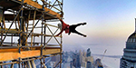 Daredevil scales worlds tallest buildings and posed like Human flag