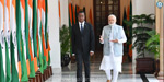 The Zambia Government of India for the visit of the President, the Prime Minister met with Photos