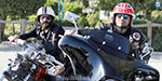 Two wheeler riders across the country urging brotherhood in Iraq