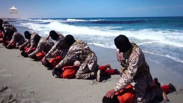 30 victims were beheaded and shot by ISIS terrorists