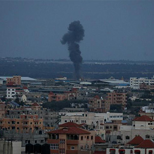 Israel retaliates for rocket attack: Israel launches a missile strike in Palestine