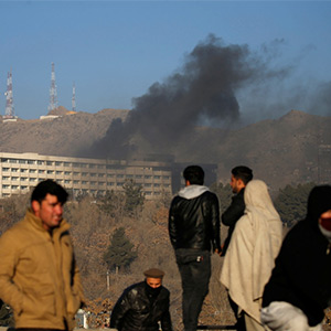 Terrorists shot in a luxury hotel in Kabul: A toll rose to 43