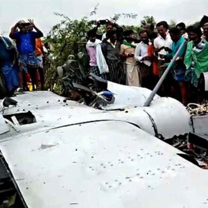 The unmanned aircraft crashed during test flight in Karnataka