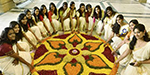 Kerala people enthusiastically celebrated the festival of Onam
