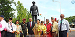 The opening of the first Army Commander KM Kharippa's statue in Chennai!