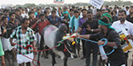 Thousands of people gathered at same time to support Jallikattu