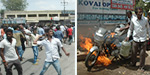 Condemning the murder of a Hindu leader, the violence erupted in Coimbatore