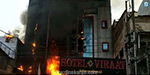 Fire in private restaurant in Lucknow: 5 people dead
