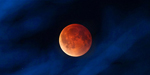 Blood moon lights up the sky because of Lunar eclipse