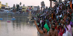 Magha magam festival which held once in 12 years has been started in Kumbakonam