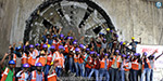 Metro train construction in Chennai completed work: officials and staff happily celebrated