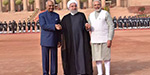 Iran chancellor meets with Prime Minister Narendra Modi - Republican leader Ramnath Govind